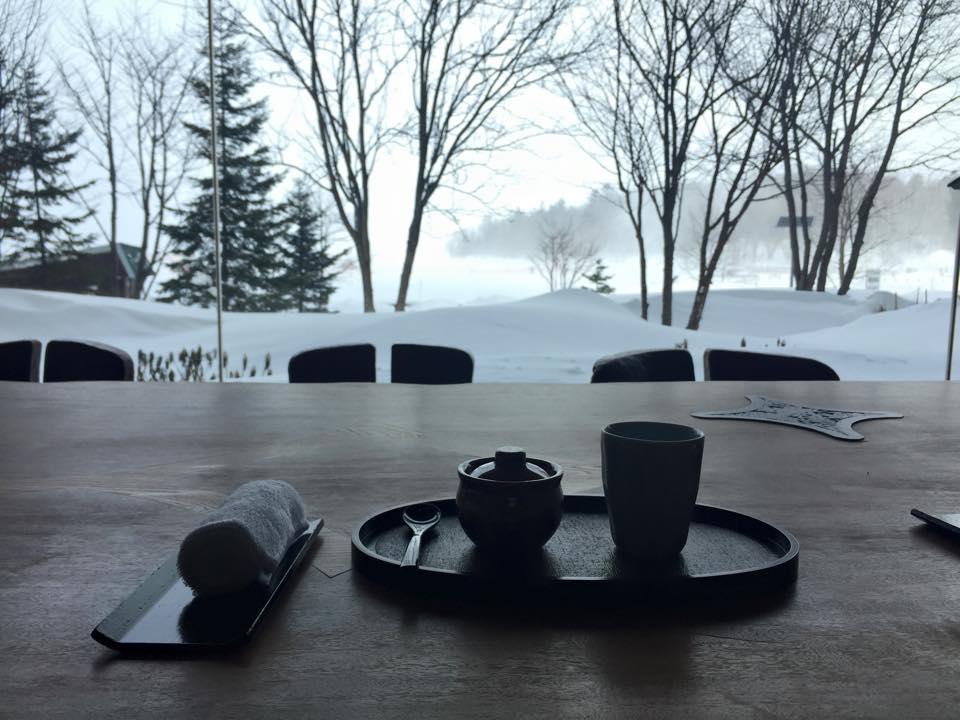 迎賓時的奉茶