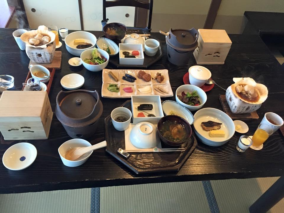 阿寒鶴雅別莊鄙之座豐盛的早餐