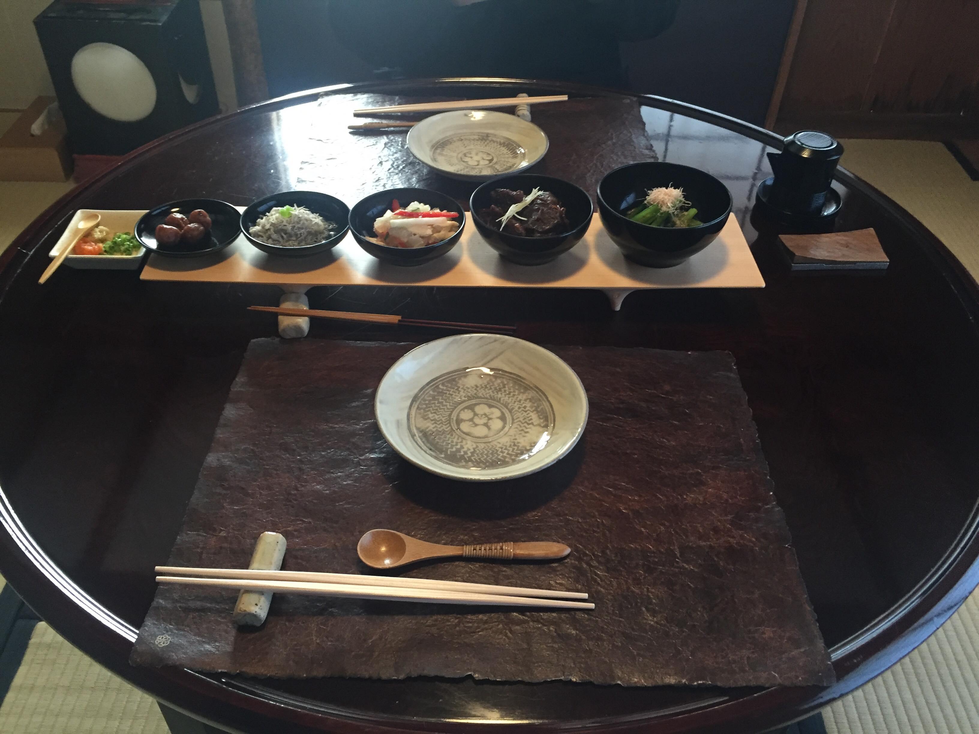 山莊無量塔的早餐(前菜)