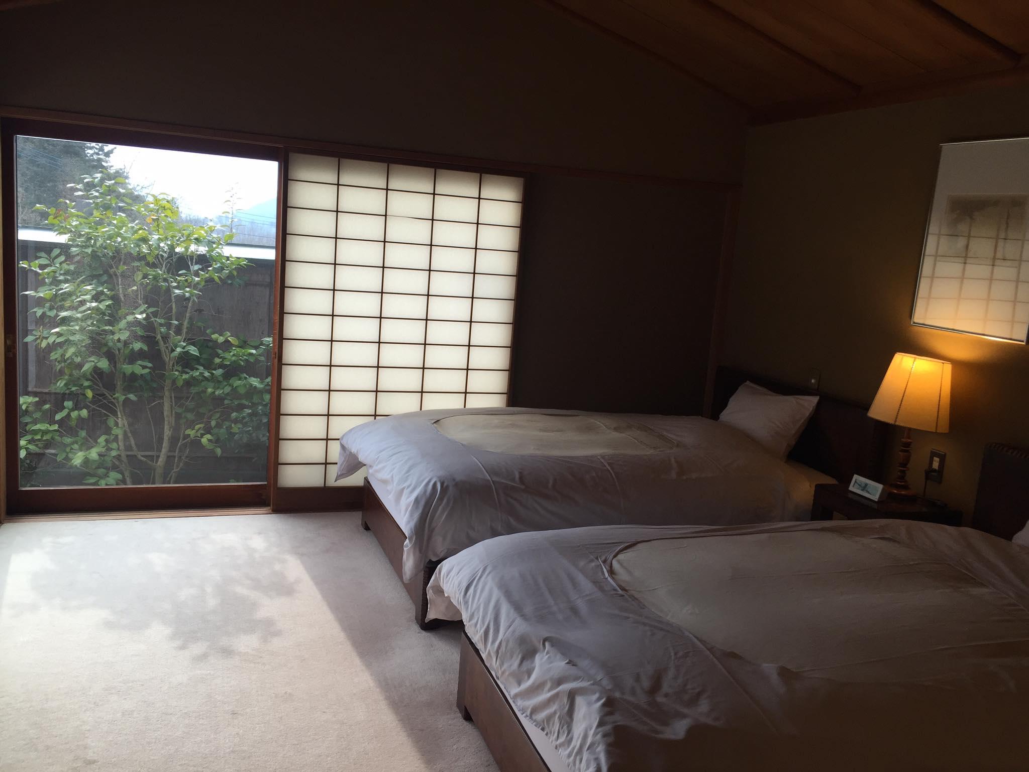 山莊無量塔「樂(Raku)」房型臥室照